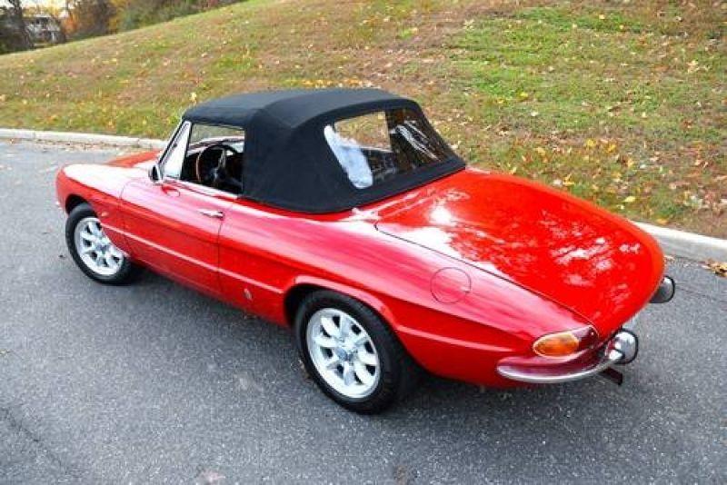 Alfa Romeo Duetto SpiderRedBlack Driver K For Sale - 1967 alfa romeo duetto spider for sale