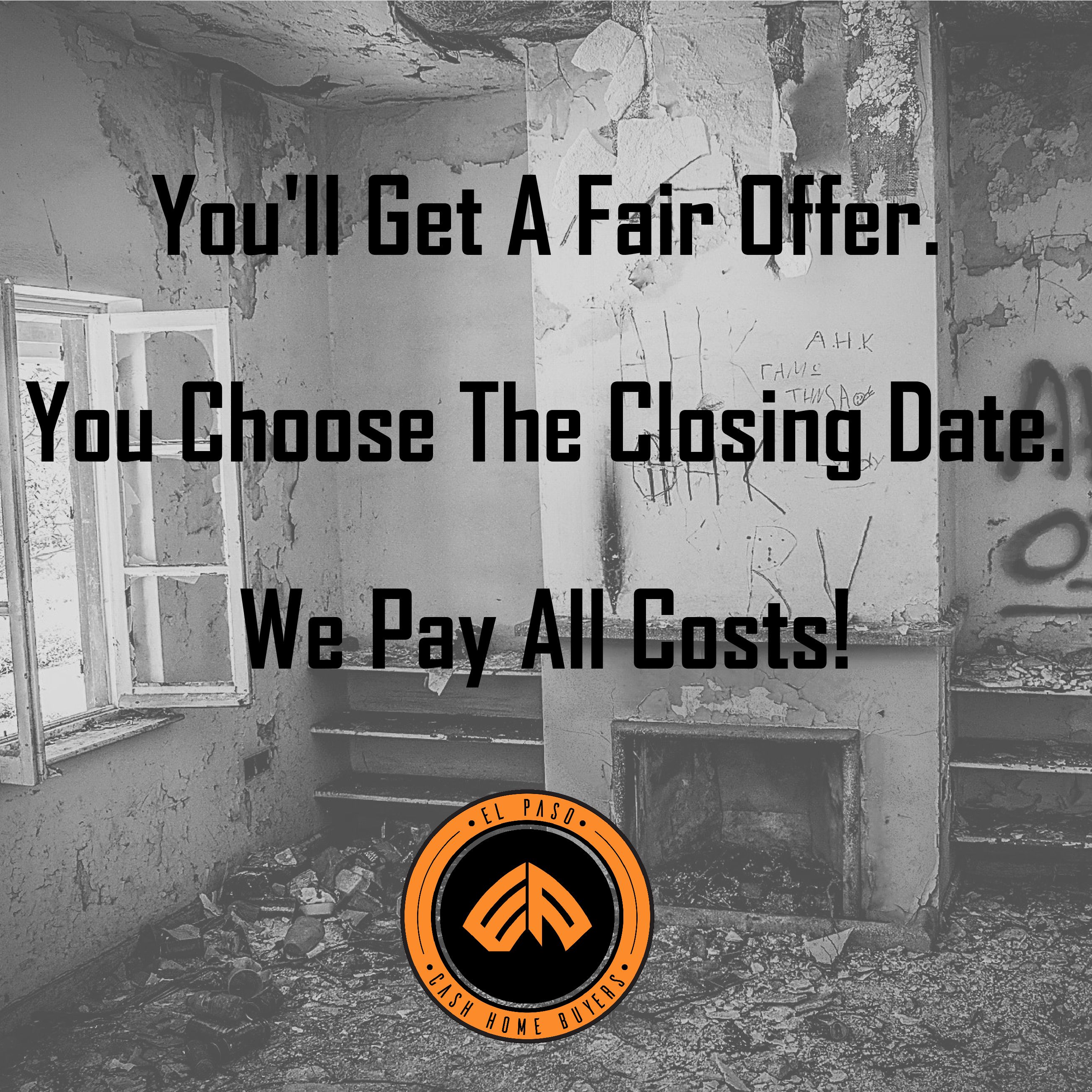 Sell your unwanted property to us! We pay cash! #sellyourhouse ...
