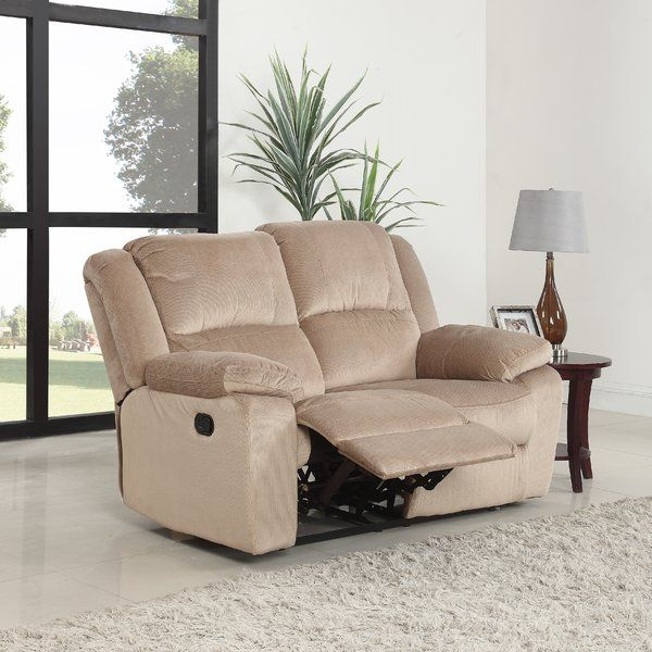 Best Haddam Reclining Loveseat Love Seat Double Recliner 400 x 300