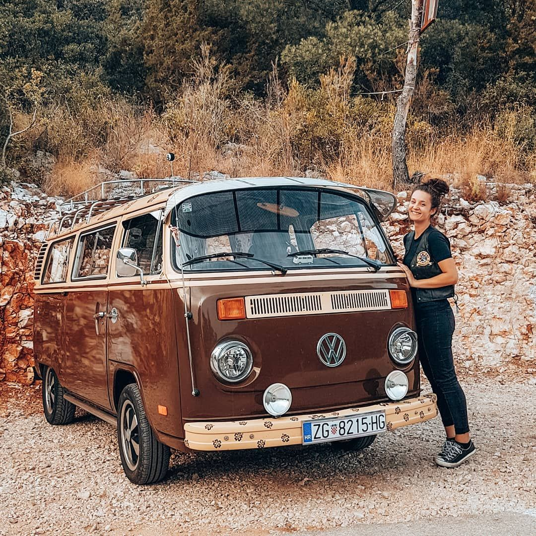 My First Car And Thesweetest One Vwbus Vw T2 Volkswagen Camper Campervan Vwdaily Bus Kombi