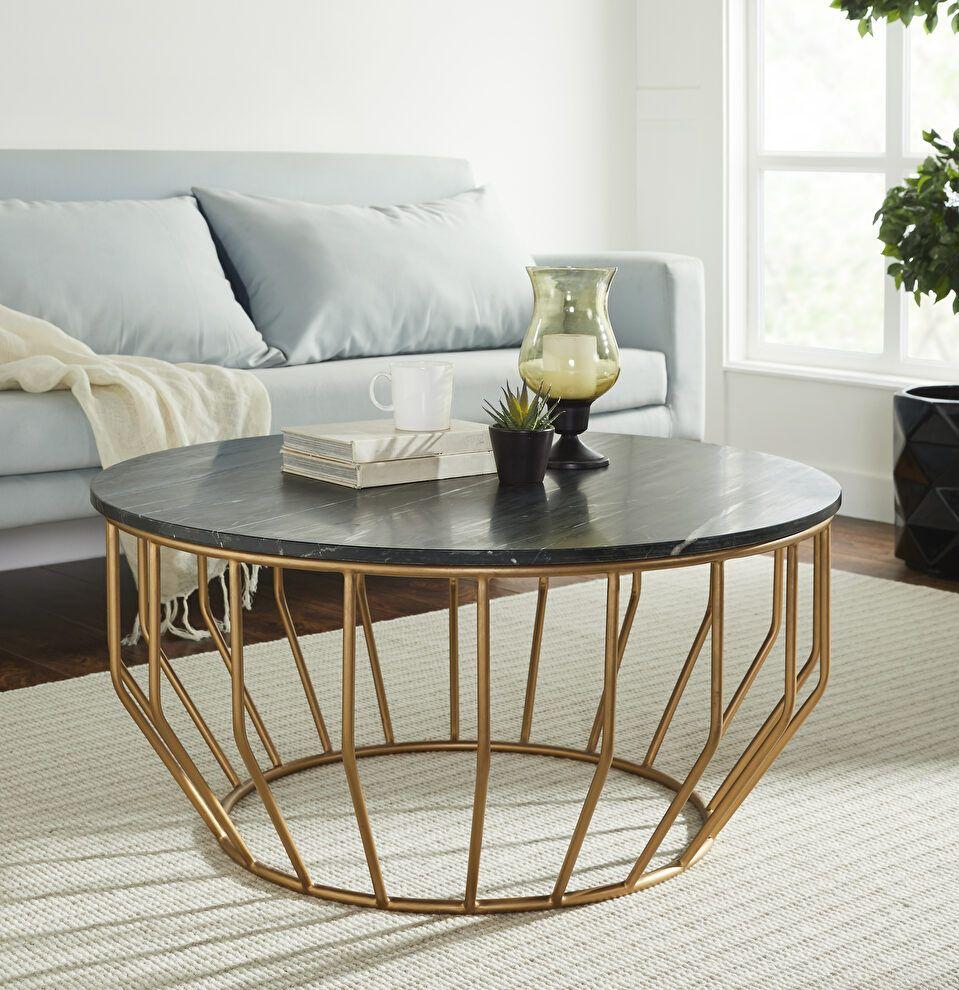 Golden Leaf Black Coffee Table Gd01 109 Mod Arte Coffee Tables Pedestal Coffee Table Coffee Table Marble Top Coffee Table [ jpg ]