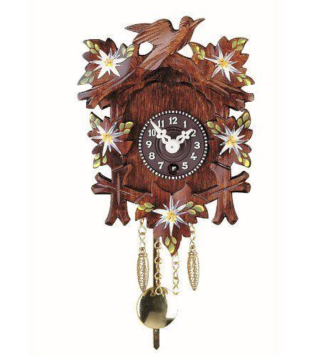 Black Forest Clock With Cuckoo By Isdd Cuckoo Clocks Http Www Amazon Com Dp B003crl3ao Ref Cm Sw R Pi Dp C1xrrb0sc1yz5 Forest Clock Clock Clock Craft