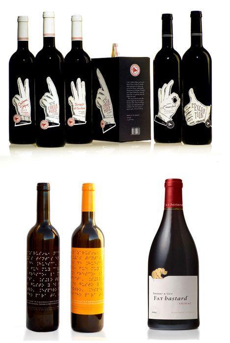 Drink Them In 61 Creative Artistic Wine Label Designs