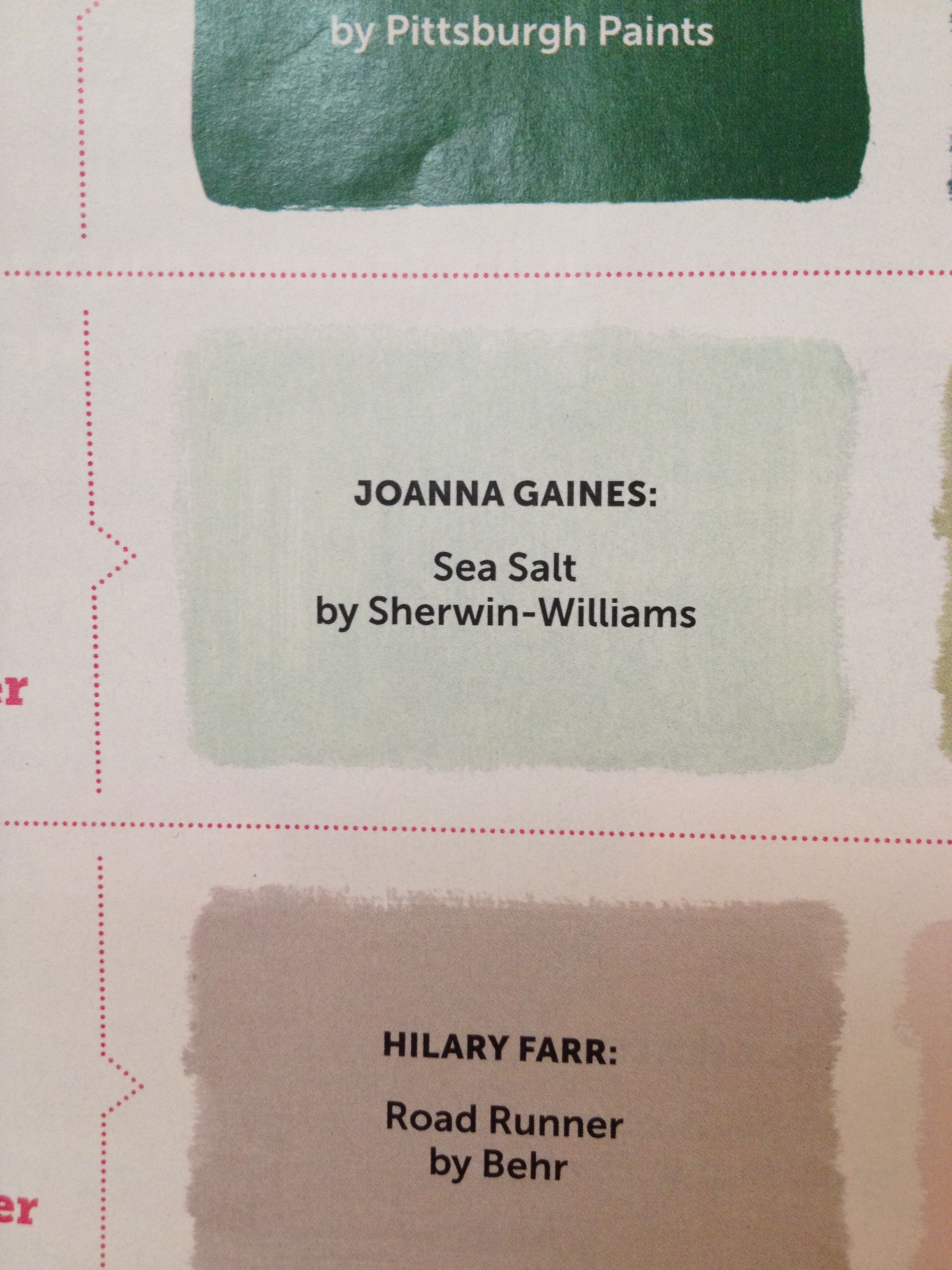 joanna gaines magnolia homes paint colors | the color was so