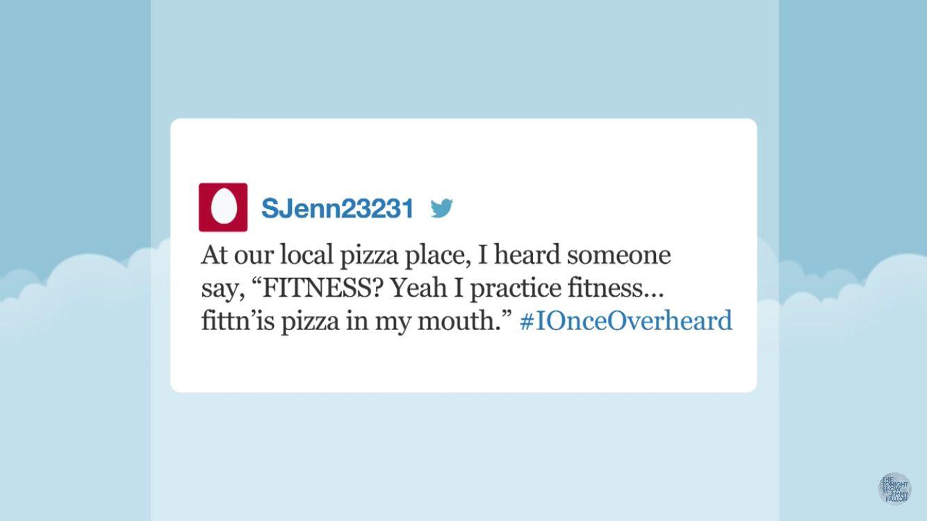 #BecausePizza ..