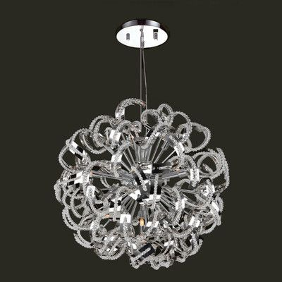 Worldwide Lighting Medusa 13 Light Crystal Chandelier - http://chandelierspot.com/worldwide-lighting-medusa-13-light-crystal-chandelier-602981571/