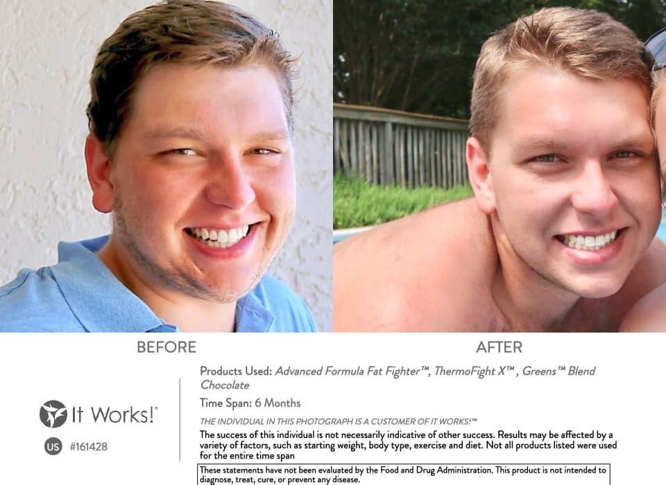 Anderson Floyd— 60lbs   Itworks, My it works, It works
