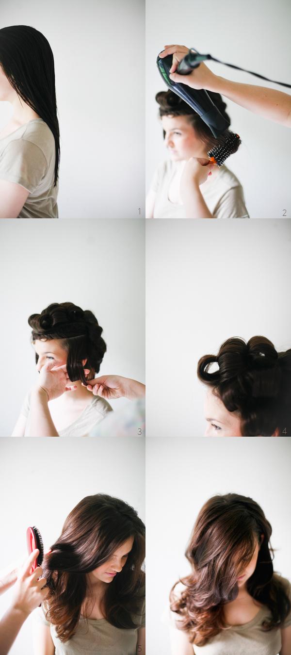 easy hair tutorials u diy hairstyles big waves blow dry and