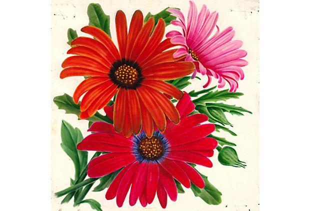 Daisy Watercolor, C. 1935 on OneKingsLane.com