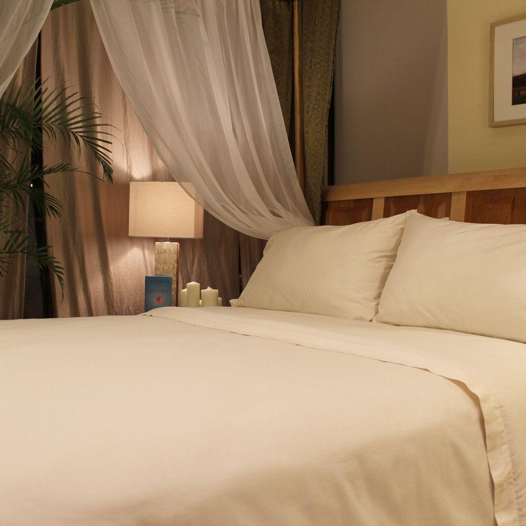 certified 100 organic cotton sateen 400tc sheet