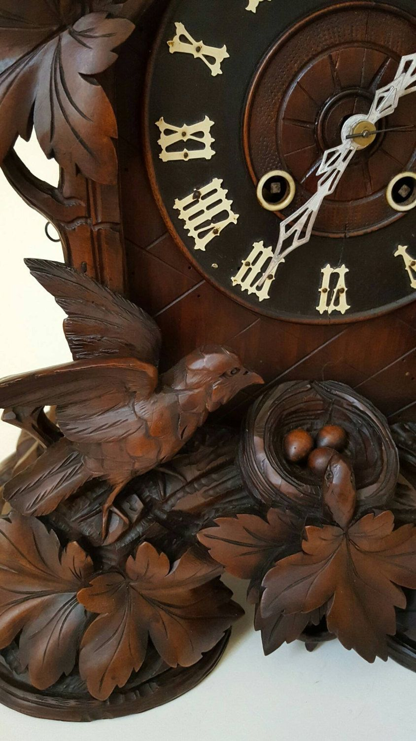 Unusual Cuckoo Clocks rare unusual mantle cuckoo clock circa 1880srareunusualcuckoos