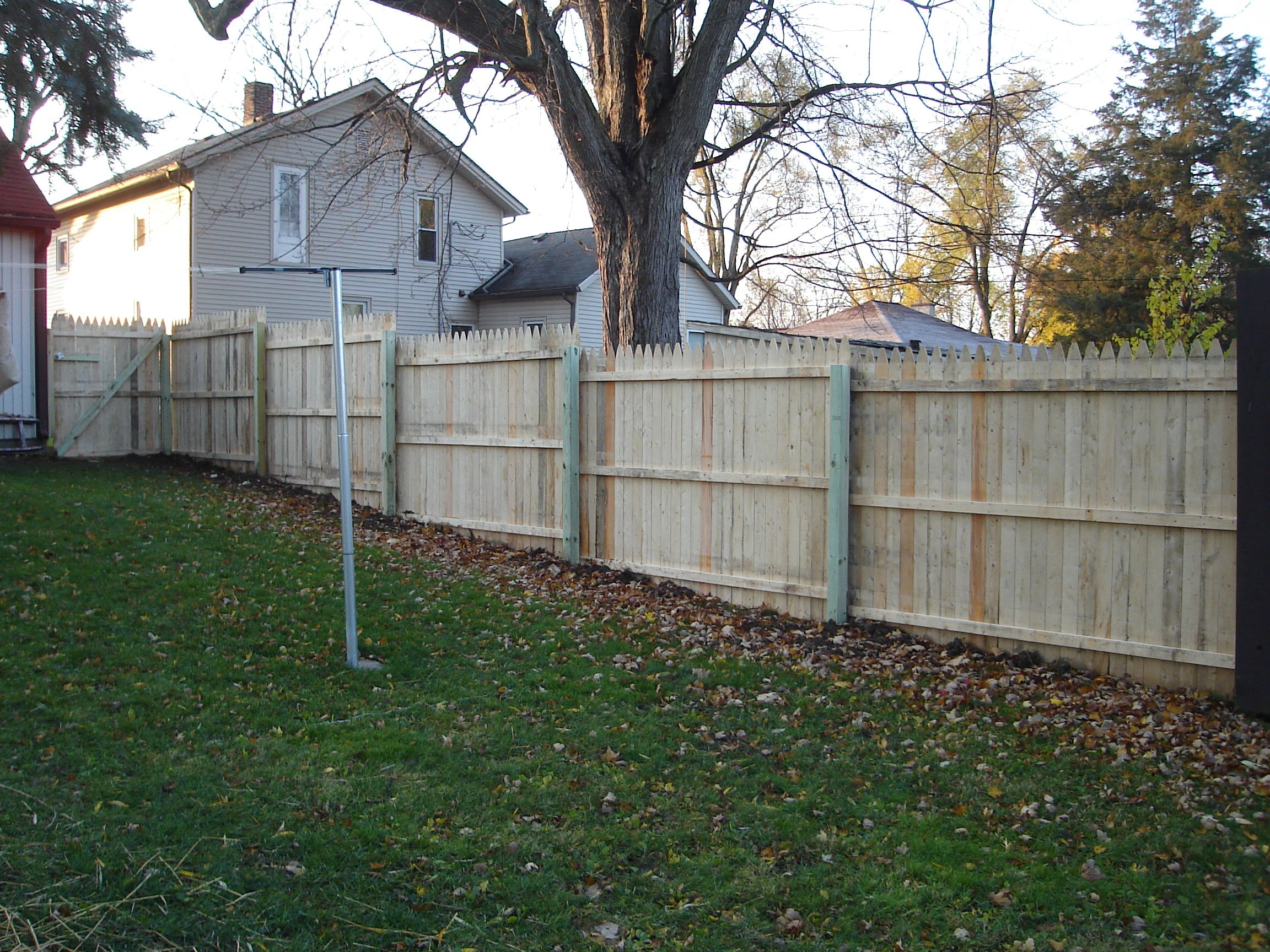 Image result for privacy fence on uneven ground   Backyard ... on Unlevel Backyard Ideas id=22083