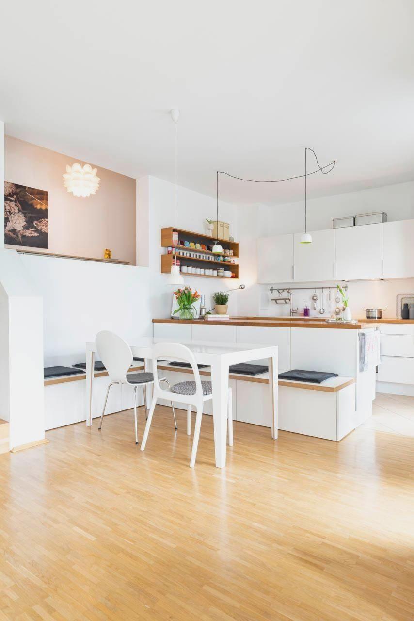 Neuhier Homestory Kuche Ikeahack Flexiblemobel In 2020 Wohnung Kuche Eckbank Kuche Kuche Loft