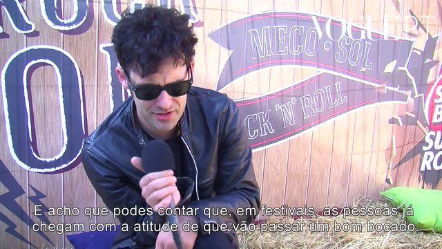 Black Rebel Motorcycle Club no Super Bock Super Rock 2013 by VoguePT. Veja o artigo completo em Vogue.pt.