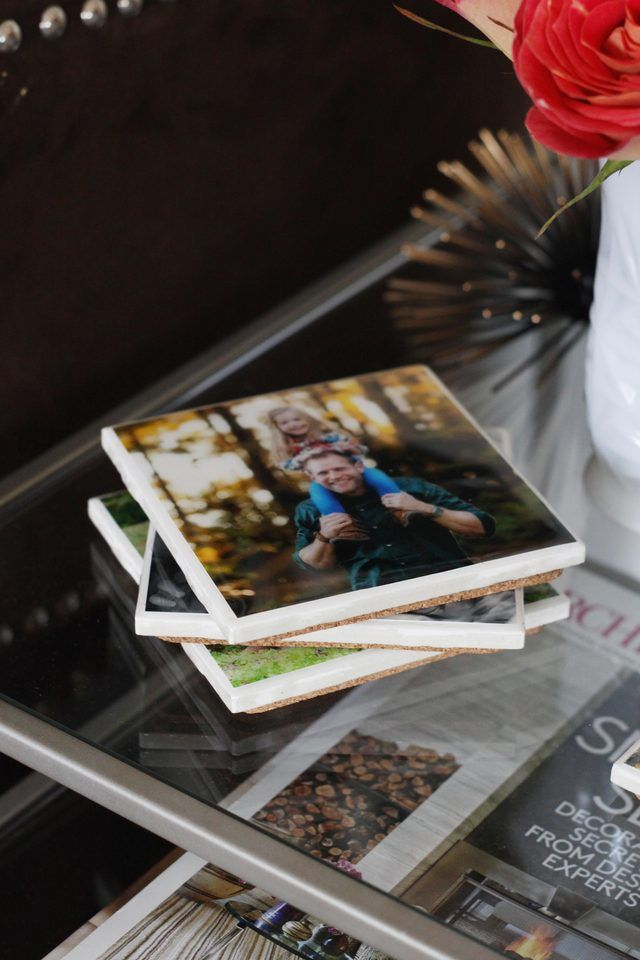 How To Make Tile Photo Coasters Photo Coasters Varnishes And Coasters