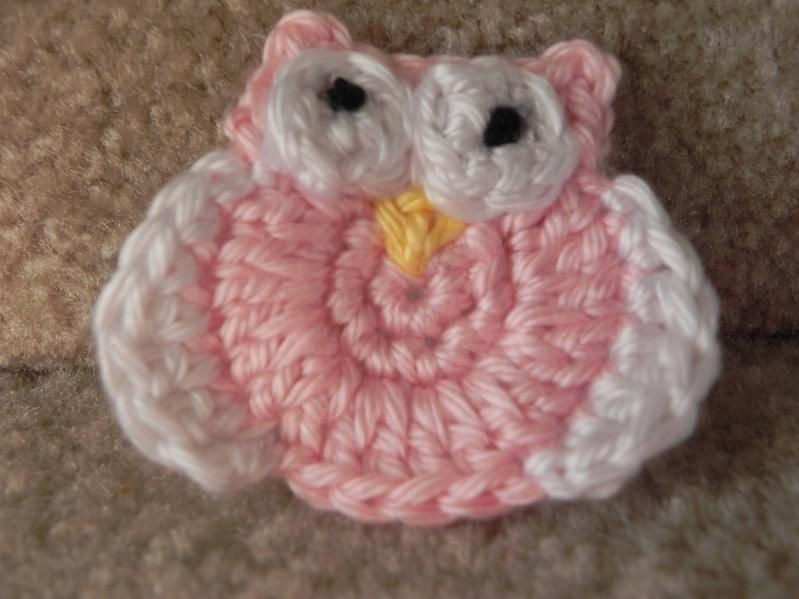 Crochet Little Owl | Crocheted & Knitted (Appliques, flowers and so ...