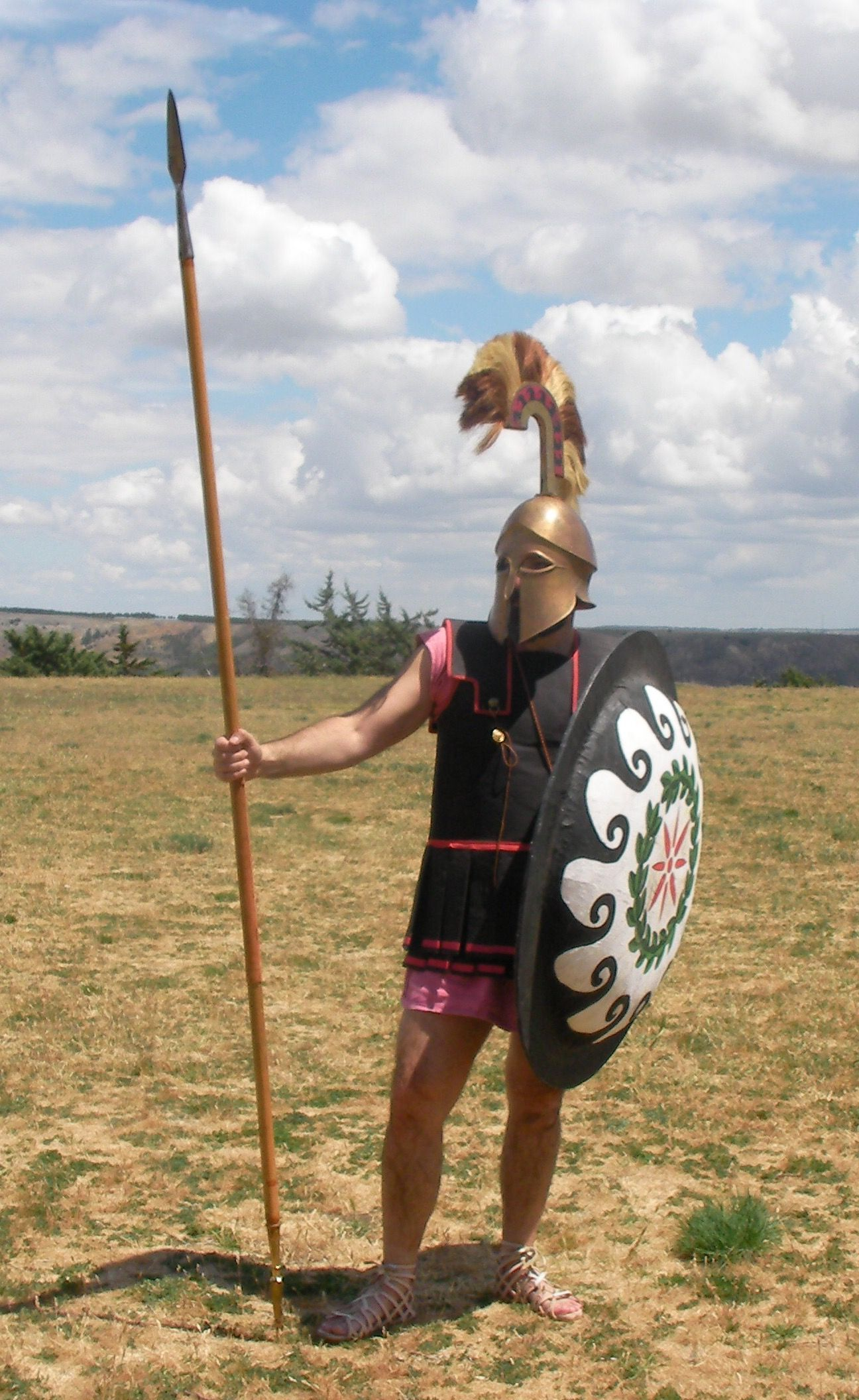 Hoplita Griego Greek Hoplite Guerrero Warrior & Hoplita Griego Greek Hoplite Guerrero Warrior | Armor/Clothing ...