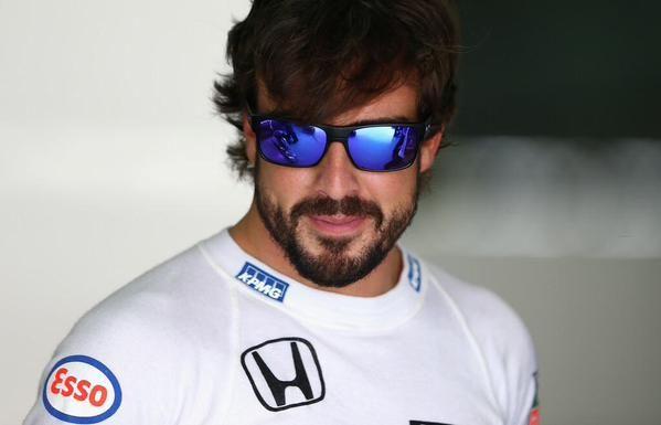59685bf201e Fernando Alonso. Fernando Alonso Oakley Sunglasses ...