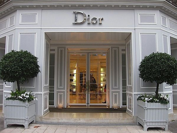paris chic at the dior home boutique