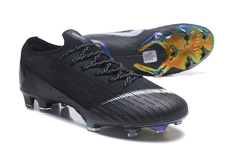 Nike Copa Mundial Botas Mercurial Vapor XII Elite 360 FG - Negro Blanco 568232d18a8b6