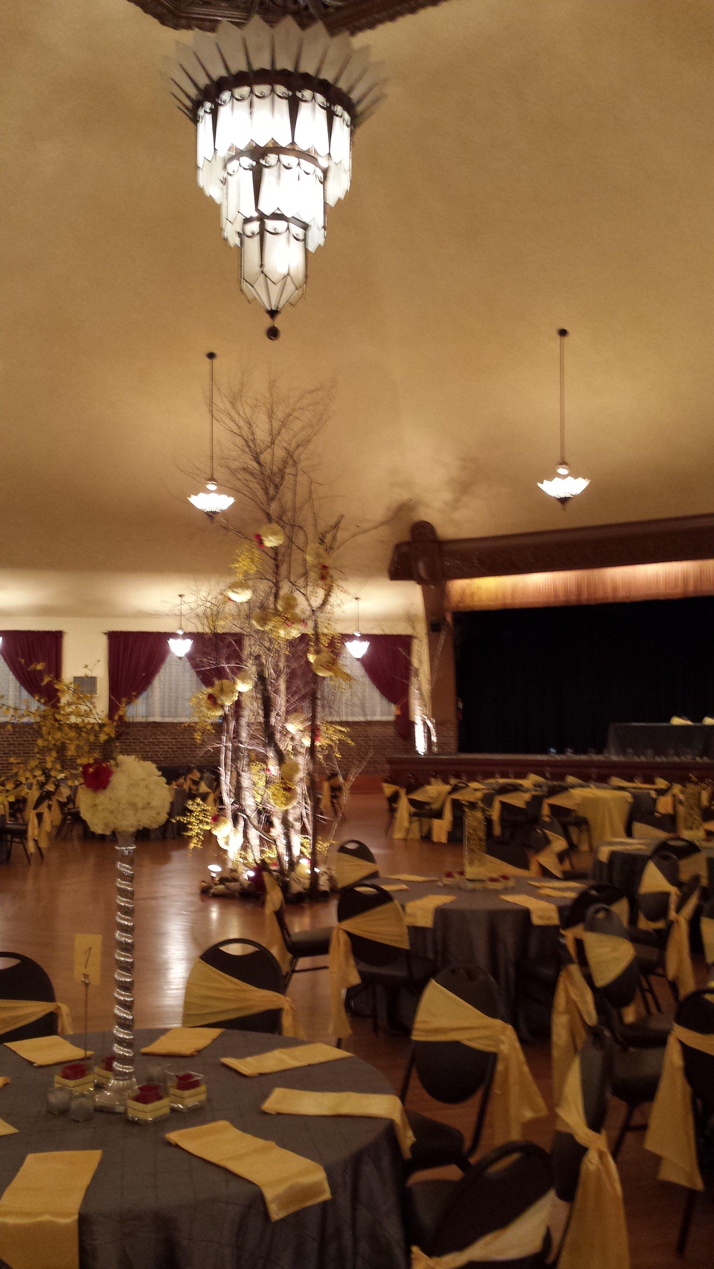 Yellow wedding at the chandelier ballroom chandelier ballroom yellow wedding at the chandelier ballroom arubaitofo Choice Image