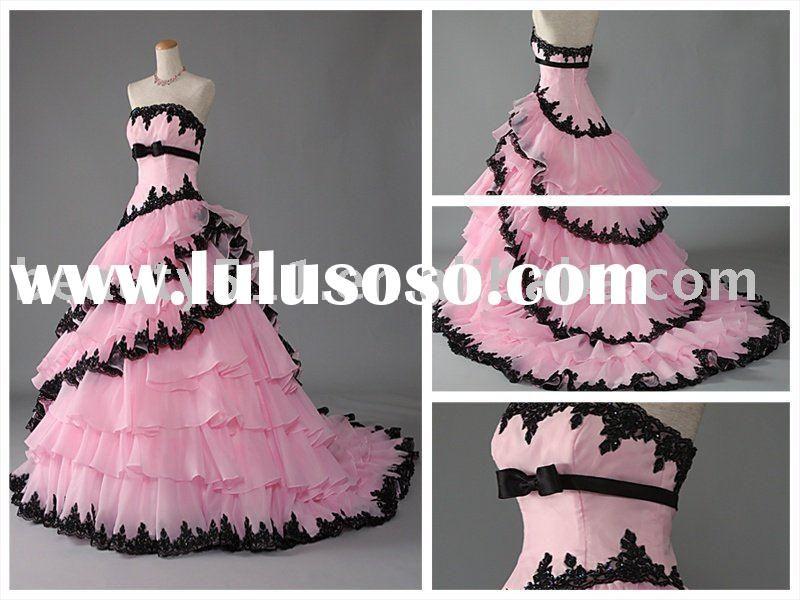 1000  images about Pink &amp Black Weddings on Pinterest  Pink black ...