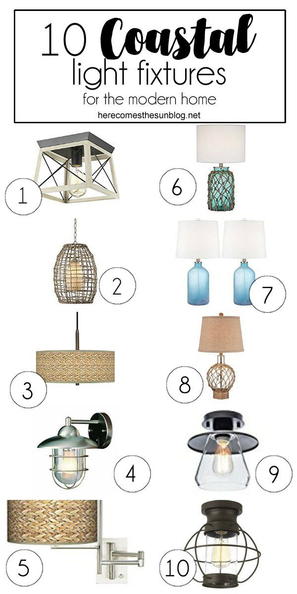 Photo of 10 Coastal Light Fixtures for the Modern Home