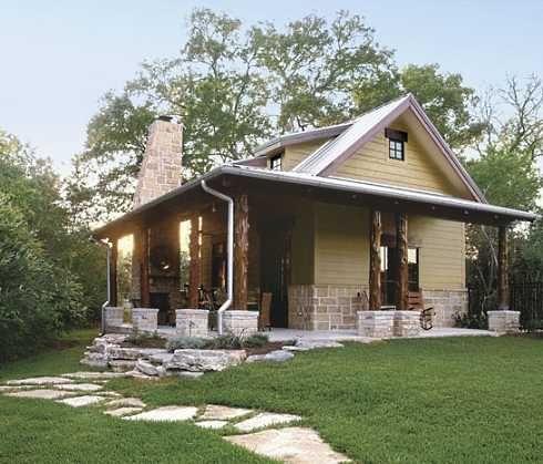 Planos de caba as y casas de campo peque as ideas para for Construccion casas de campo