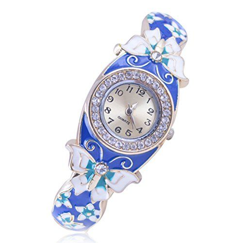 Fashion Cloisonne crystal butterfly flying women vintage bangle ... http://www.amazon.com/dp/B01D61ZFW2