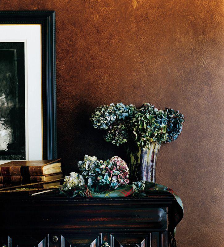 Antiqued Leather Ralph Lauren Paint Faux Leather Walls Fall Paint Colors