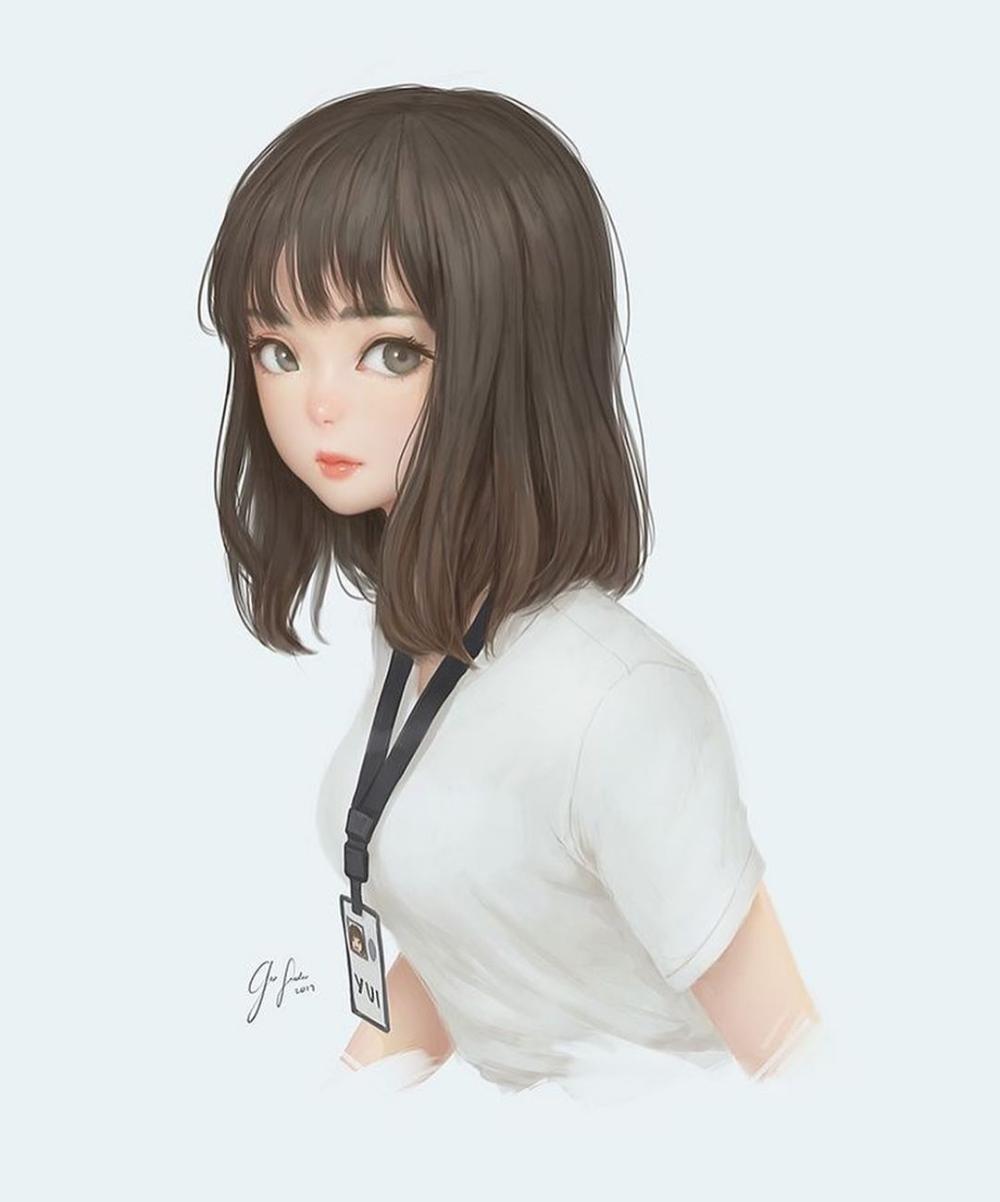 Pin Oleh Rafa Asifa Virgia Di Character Gaya Rambut Anime Gadis Cantik Gaya Rambut Pendek