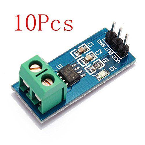 10Pcs 30A New Range Current Sensor Module Board For ACS712