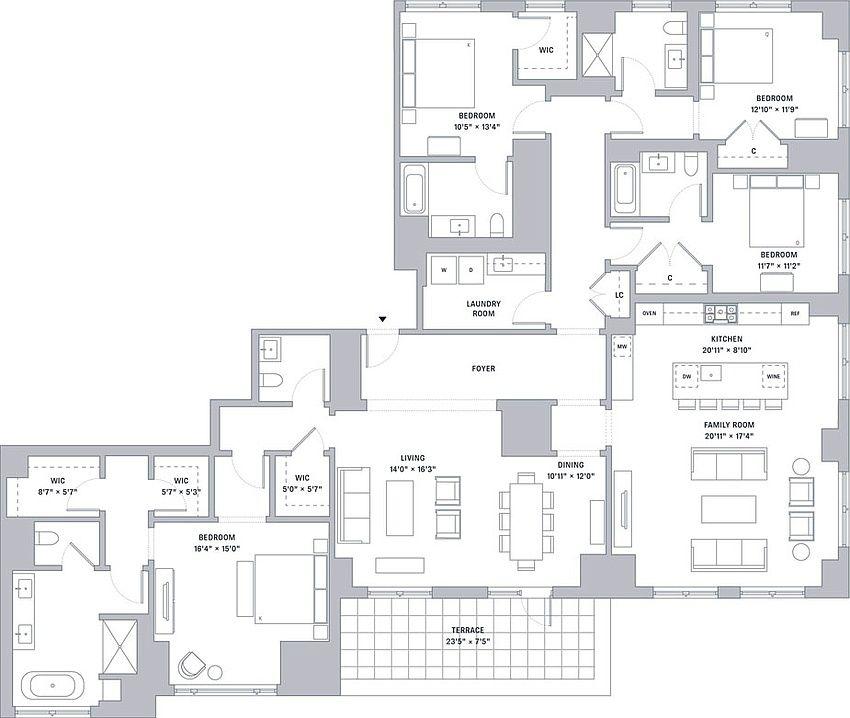 One Bennett Park Apartment Rentals - Chicago, IL