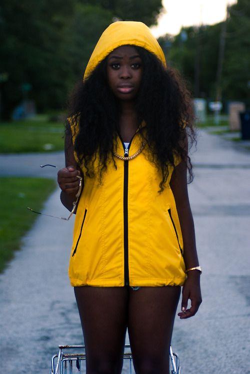 Petite dark skin black girls