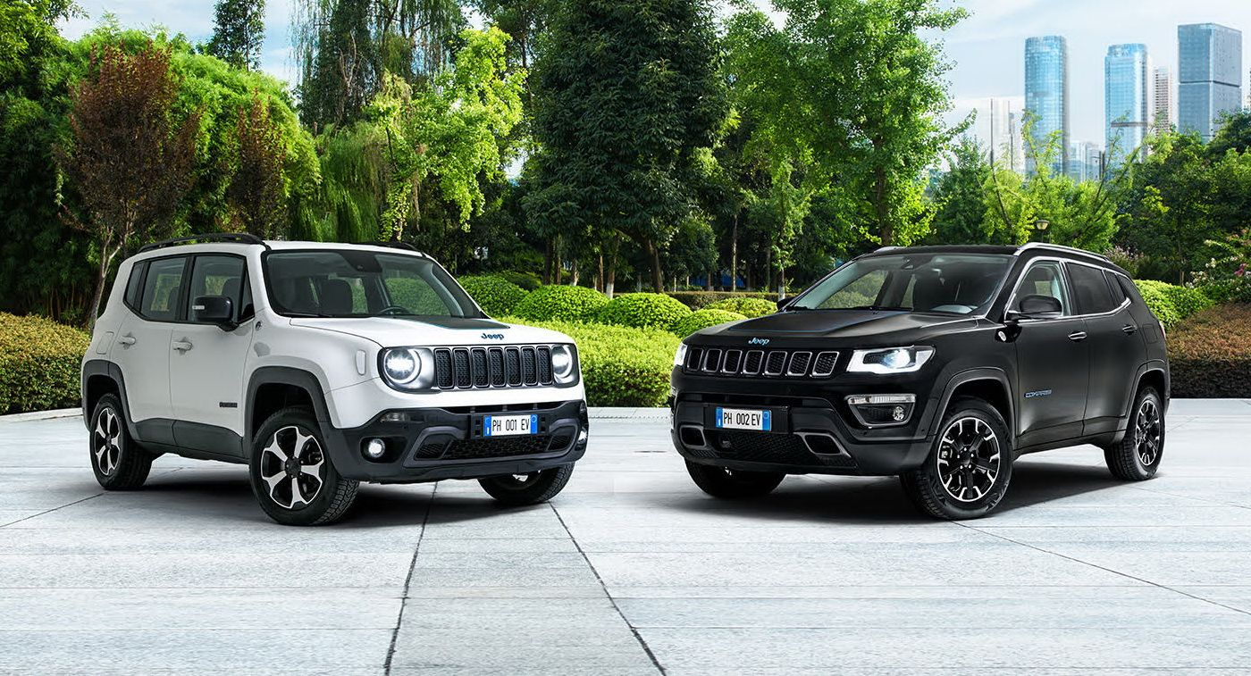 Jeep Launches Plug In Hybrid Renegade Compass 4xe First Edition In Europe In 2020 Jeep Renegade Jeep Jeep Compass