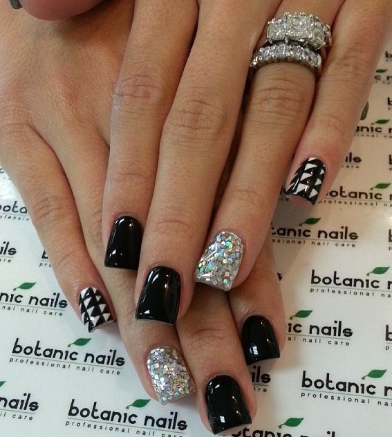 Diamonds Nail Art Design Ideas: Best 25+ Diamond Nail Designs Ideas On Pinterest