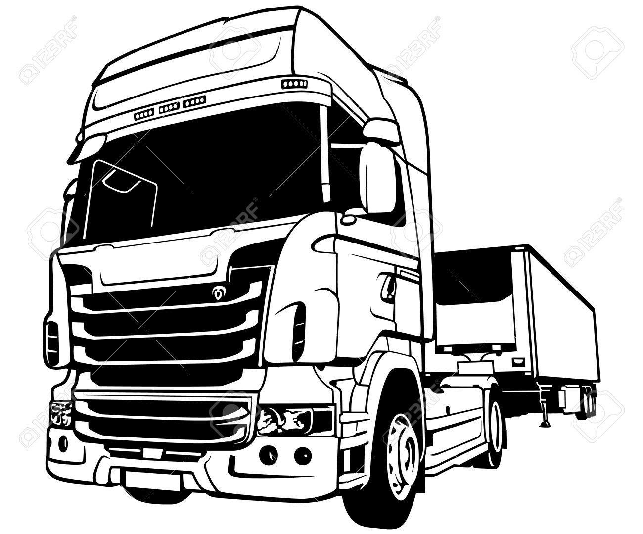 Pin De Giorgos Vittas Em Silhouette Desenho De Caminhao Scania Desenhos De Caminhoes Desenho De Carreta