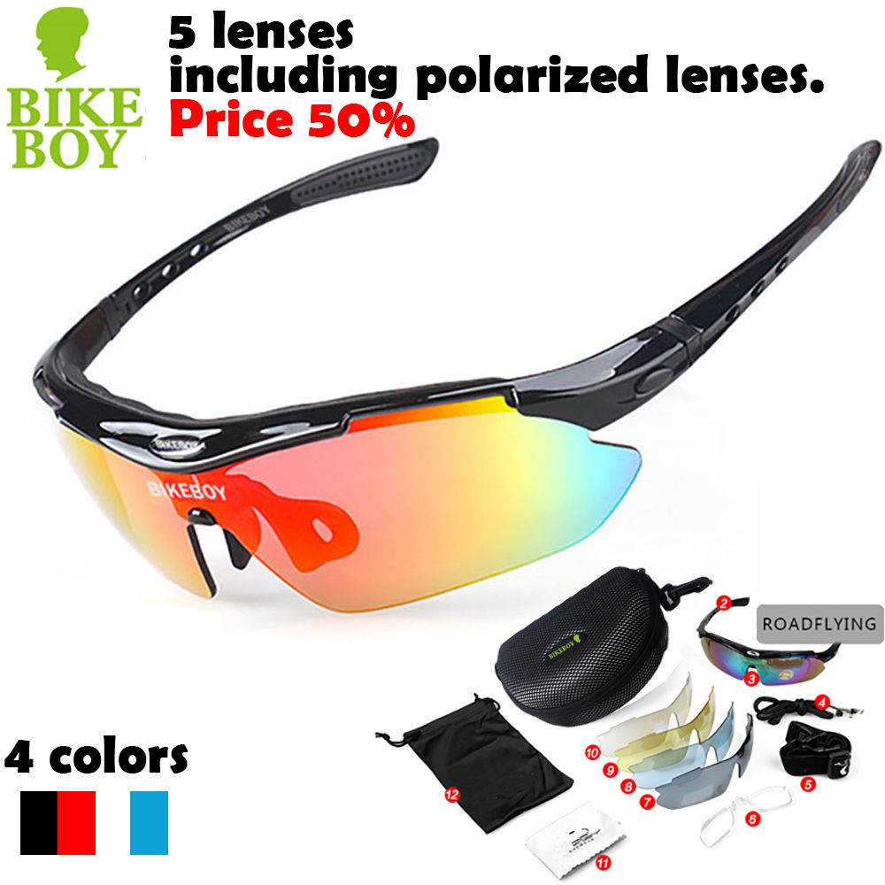 Polarized Professional Cycling Sun Glasses Outdoor Sports