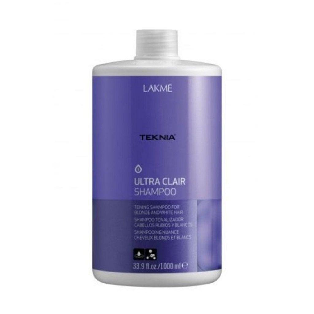 Lakme Teknia Ultra Clair Champu Cabello Rubio 1000ml Shampoo