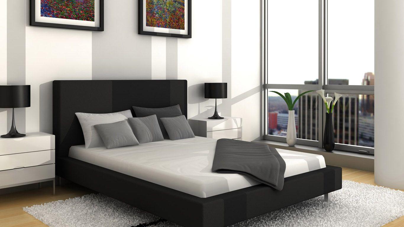 Bedroom Ideas Black White And Grey White Bedroom Design Home Interior Design Bedroom Decor