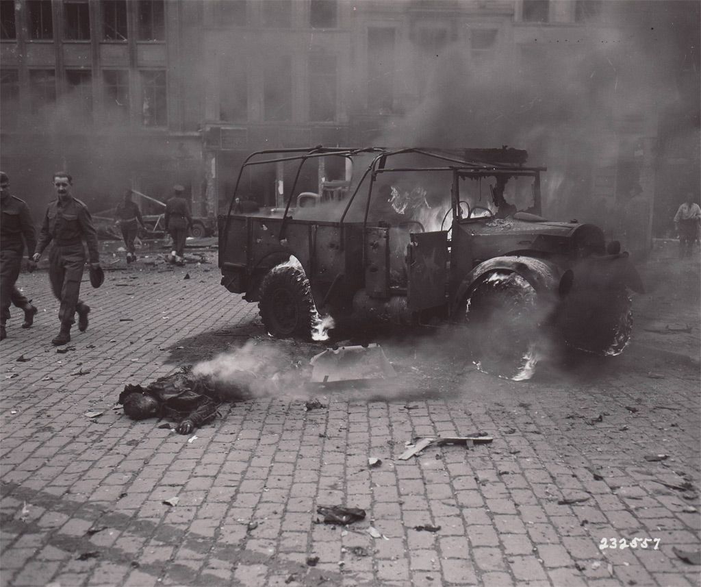 a boy s body burns after a v 2 rocket explosion in central antwerp
