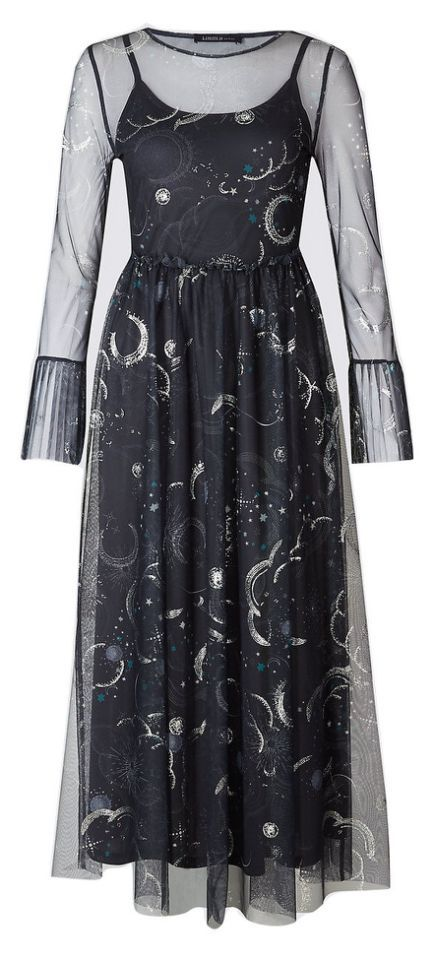 ad0584f50b8c You re looking at a cosmic-inspired dress which is certainly out of this  world… Marks and Spencer