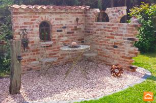 bildergebnis f r ruinenmauer aus alten abbruchziegeln mauer pinterest alter ruinen und g rten. Black Bedroom Furniture Sets. Home Design Ideas