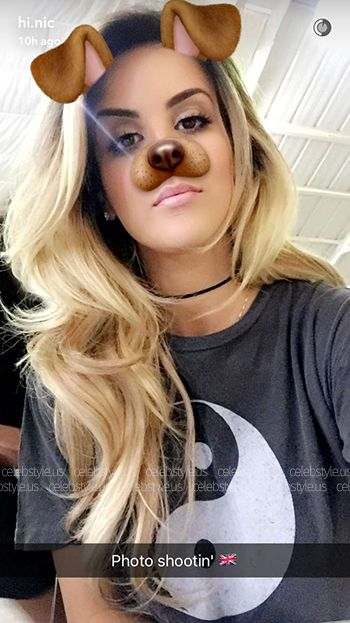 Nicole Guerriero Wearing An Urban Outfitters Truly Madly Deeply