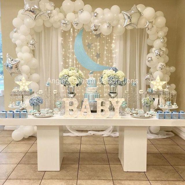 Genial Idea Para Adornar Tu Fiesta Baby Shower Babyshower - Decoracion-baby-shower