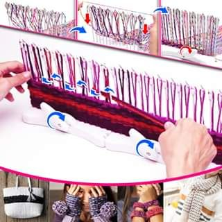 Photo of Loom Knitting Kit🤩Make Weaving Simple, Fast And Fun!🧶