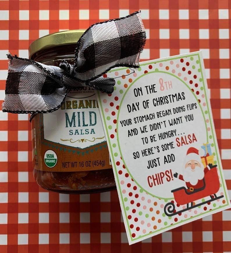 SET 12 Days of Christmas Printable Tags Secret Santa | EtsyNEW SET 12 Days of Christmas Printable T