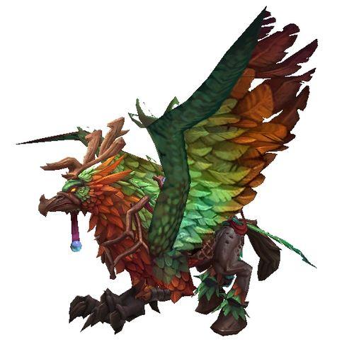 Smaragdgrüner Hippogryph Warcraft, Mounting, World of