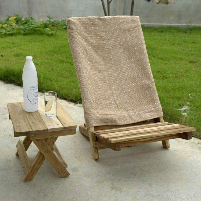 Klappstuhl Camping Holz