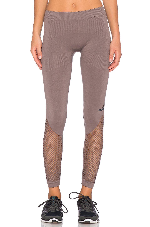 adidas by Stella McCartney Essentials Studio Tight in Cement Grey ... 01bbb6ff23